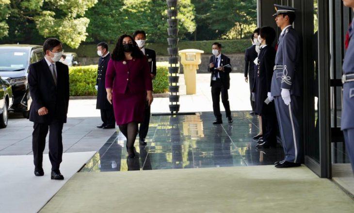 Osmani pritet nga Perandori japonez, bisedon edhe me Macron dhe Zonjën e Parë të ShBA-së