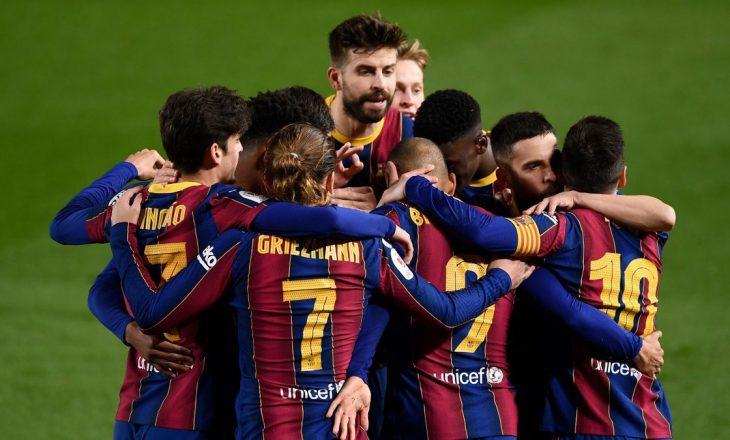 Barcelona në probleme serioze