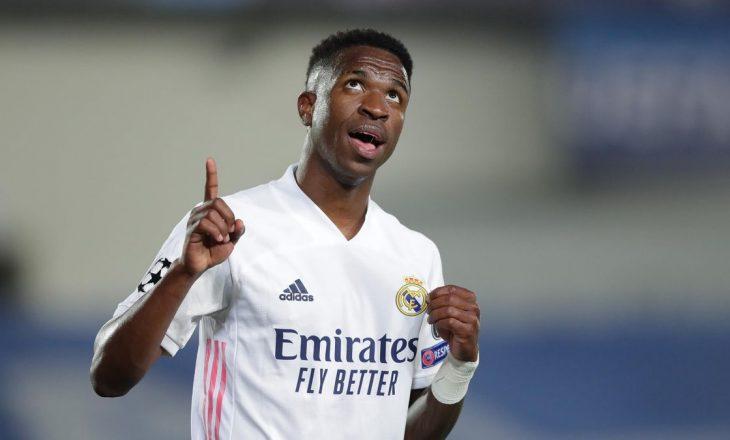 Vinicius Junior vendos për të ardhmen e tij