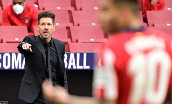 Diego Simeone vazhdon kontratën me Atletico Madrid
