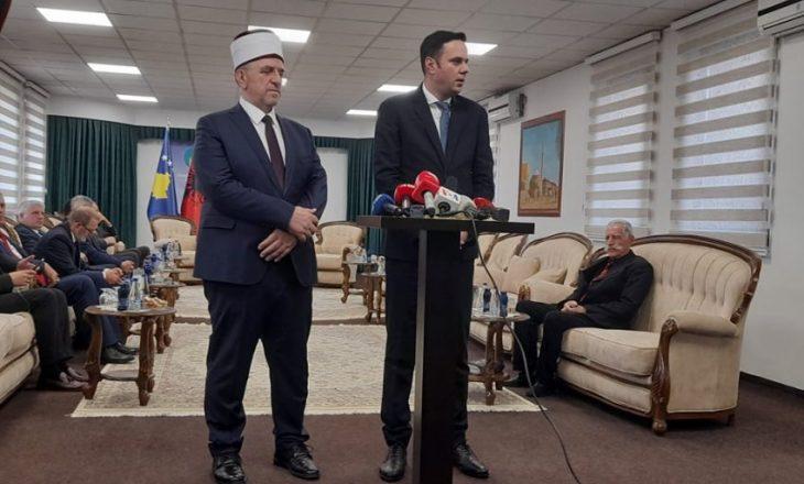 Përfaqësues të partive vizitojnë BIK-un për Kurban Bajram