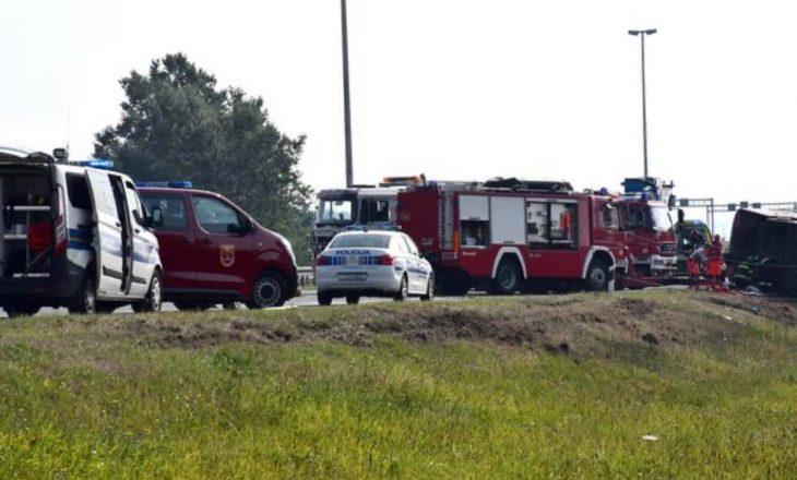 Autoritetet kroate thonë se në autobusin e aksidentuar nga Kosova kishte edhe fëmijë