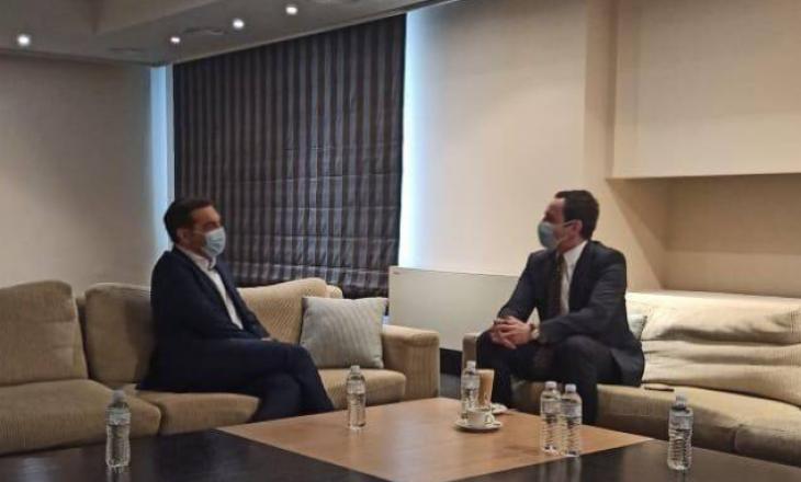 Kryeministri Kurti takohet me Alexis Tsipras