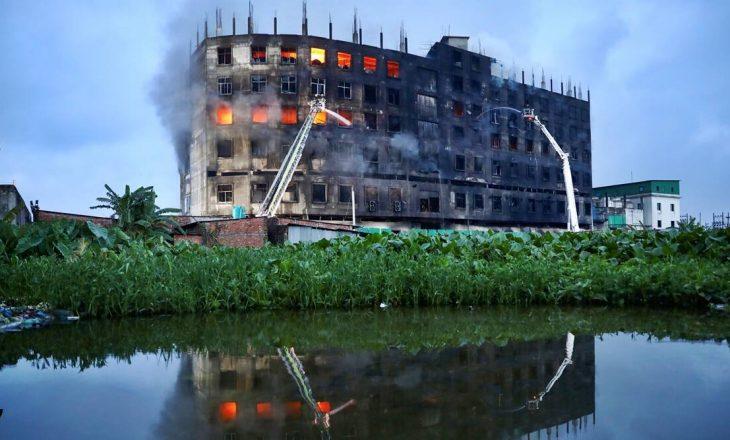 52 të vdekur nga zjarri që kaploi një fabrikë në Bangladesh