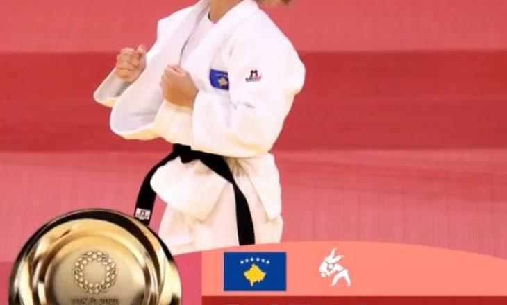 Kryediplomatja uron për medaljen e artë olimpike të Kosovës