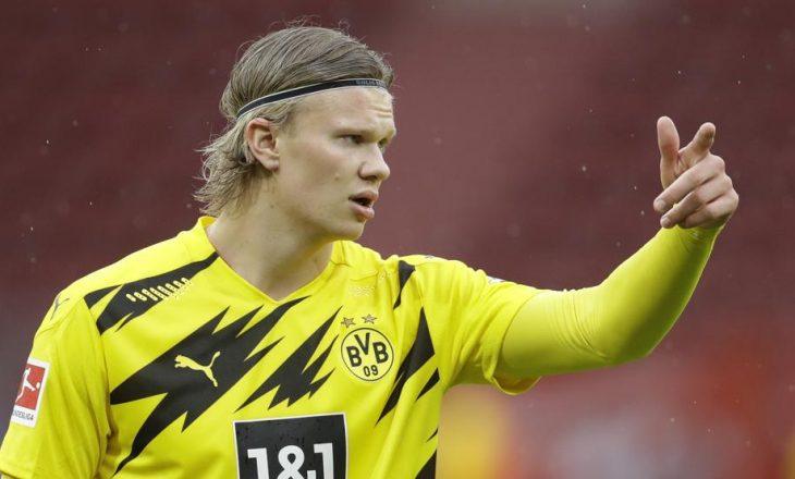 Haaland do të qëndroj në Dortmund, derisa kërkimi për zëvendësuesin e Sanchos vazhdon