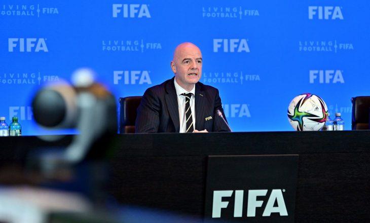 FIFA po punon të bëj disa ndryshme të mëdha në futboll