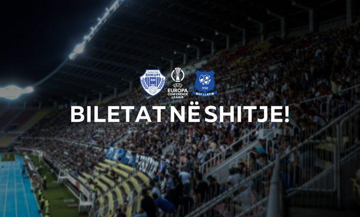 Përcaktohet çmimi i biletave për ndeshjen mes Llapit dhe Shkupit