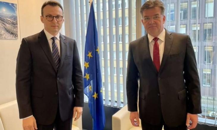 Lajçak thotë se zhvilloi takim të dobishëm me Petkoviqin
