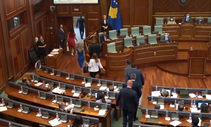 Lista Serbe deklarohet pas lëshimit të seancës kur u miratua rezoluta për Srebrenicën