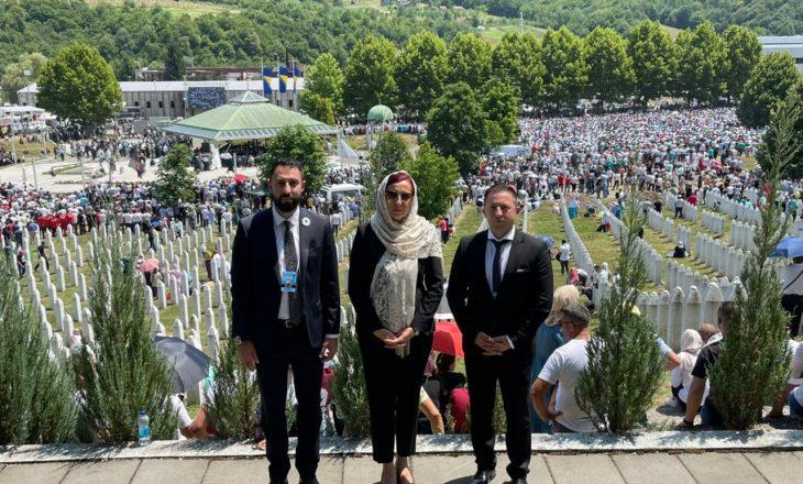 Mehaj kërkon drejtësi edhe për masakrat e Kosovës te Memoriali i Gjenocidit në Srebrenicë