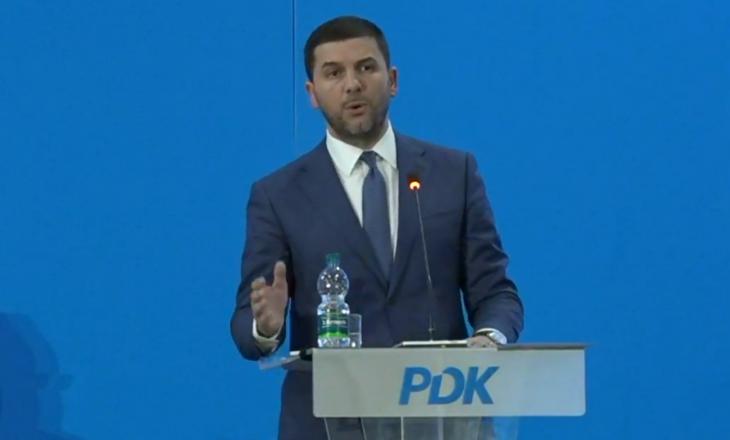 Memli Krasniqi zgjedhet kryetar i PDK-së