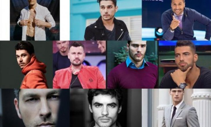Media ndërkombëtare renditë 10 meshkujt shqiptarë më të bukur për këtë vit, kush është i pari