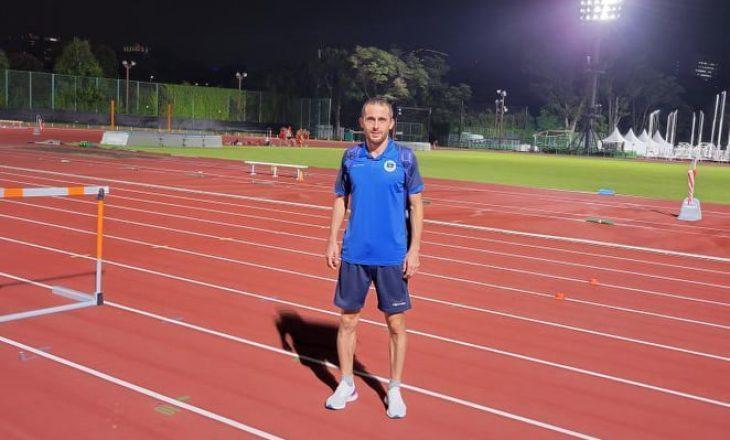 Musa Hajdari nis përgatitjet në Fshatin Olimpik