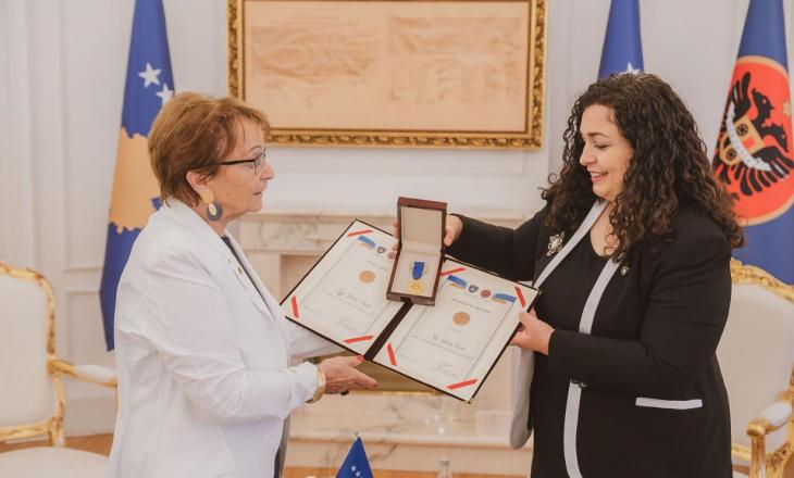 """Ish-eurodeputetes Doris Pack i dorëzohet """"Urdhri i lirisë"""""""
