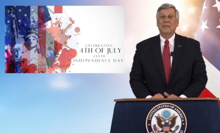 Ambasadori Kosnett uron për Ditën e Pavarësisë së SHBA-së