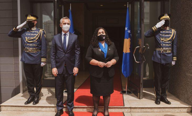 Osmani në takim me Stoltenbergun: E ardhmja e Kosovës është në NATO
