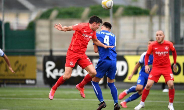 """Prishtina siguroi kualifikimin në raundin tjetër të """"Conference League"""""""