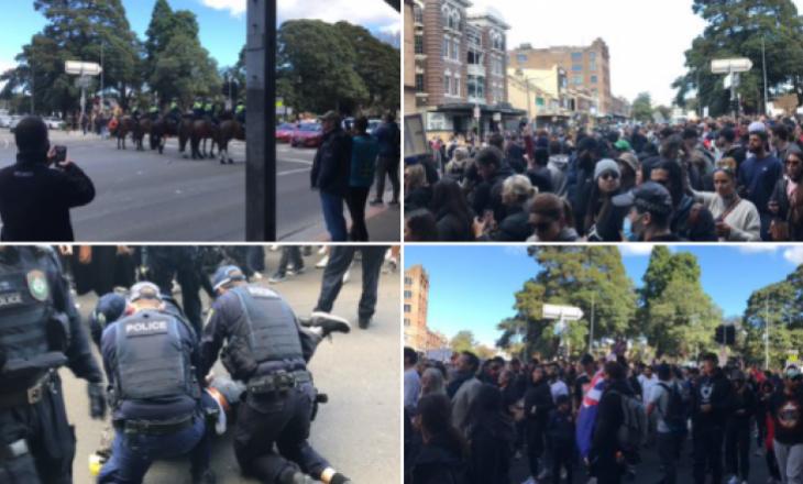 Mijëra qytetarë po protestojnë në Australi, shkaku i masave COVID-19