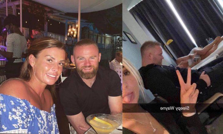 Bashkëshortja e Wayne Rooneyt tregon se si ndihet, pasi atij iu publikuan pamjet me tri vajza të zhveshura në hotel