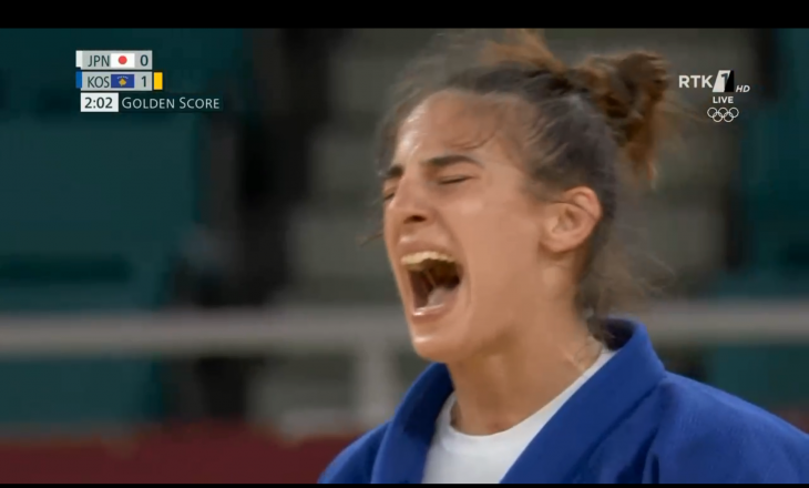 Nora Gjakova siguron medaljen e dytë olimpike Kosovës, kalon në finale