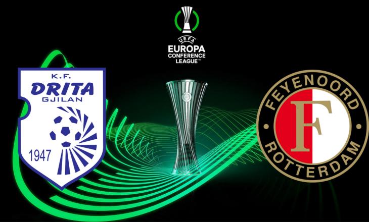 Drita – Feyenoord: Formacionet zyrtare