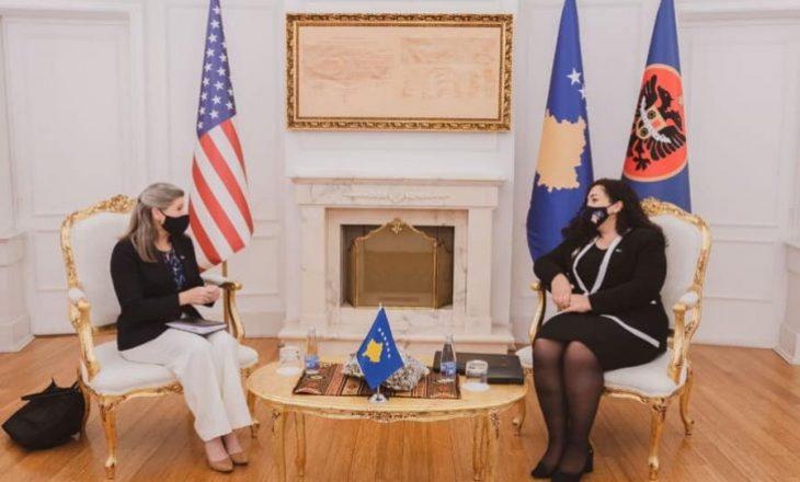 Osmani takohet me delegacionin e Kongresit amerikan që po qëndron për vizitë në Kosovë