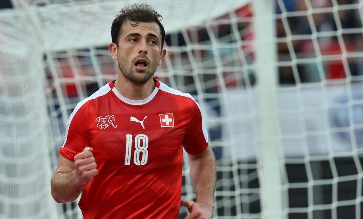 Admir Mehmedi tërhiqet nga Kombëtarja e Zvicrës