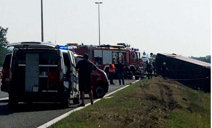 Deva Tours: Autobusi i aksidentuar në Kroaci ishte i mbushur me mërgimtarë