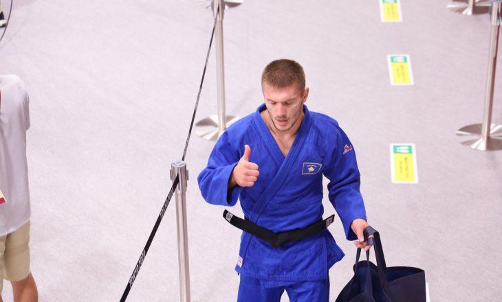 Akil Gjakova mbetet pa medalje, mposhtet në garë për të bronztën