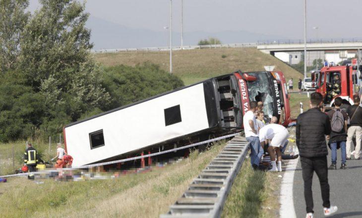 Aksidentohet një autobus nga Kosova në Kroaci, raportohen dhjetë të vdekur