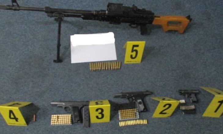 Sekuestrohen armë e municion në Podujevë
