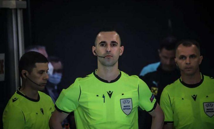 Gjyqtarët kosovar ndajnë drejtësinë në ndeshjen e Ligës së Kampionëve