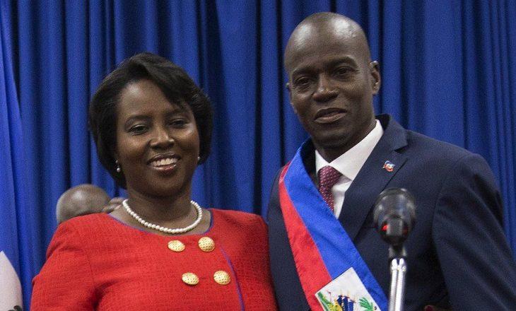 Gruaja e ish-presidentit të Haitit flet për herë të parë pas vrasjes së tij