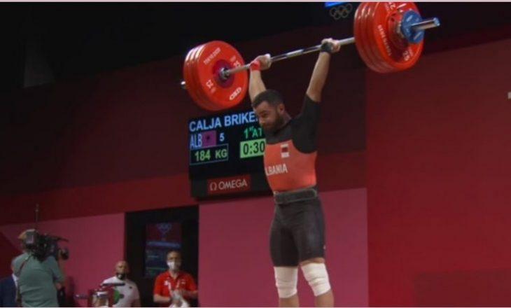 Vetëm për një kilogram Briken Calja nuk mundi t'i sigurojë Shqipërisë medaljen e bronztë