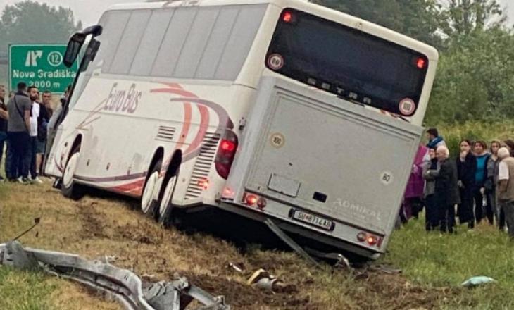 Autobusi me shqiptarë që po udhëtonte nga Gjermania përplaset në Kroaci