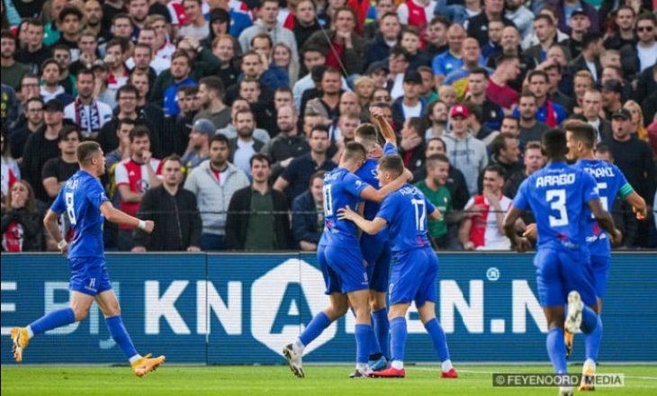 Shumë afër mrekullisë, pavarësisht se dhuroi spektakël, Drita eleminohet nga Feyenoord