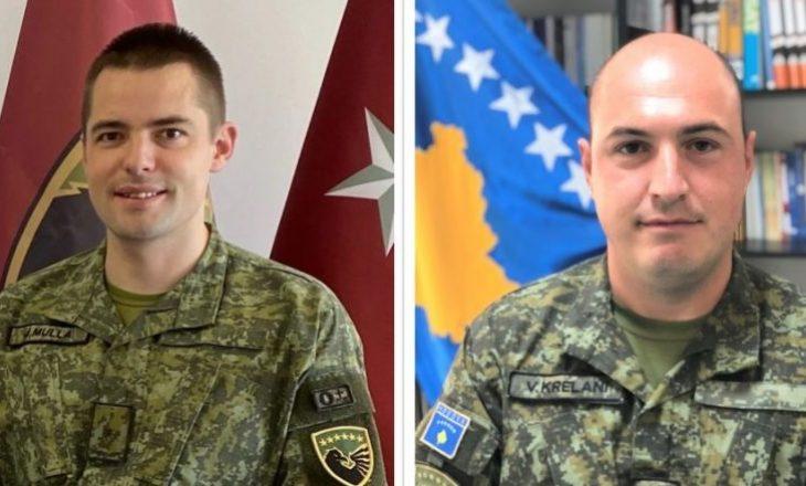 Dy oficerë të FSK-së diplomojnë në Kolegjin Ushtarak të SHBA-së