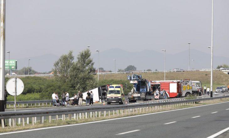 Udhëtarët dhe trupat e viktimave nga aksidenti arrijnë sonte në Kosovë