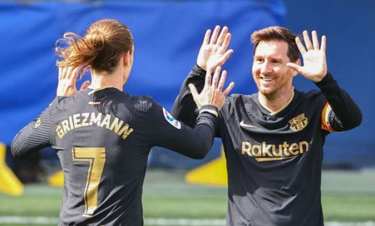 Barcelona duhet të shes Griezman për të mbajtur Messin