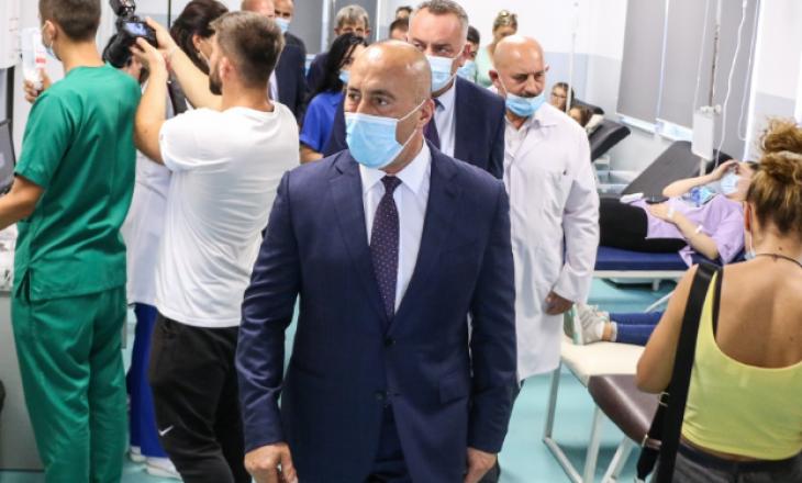 Haradinaj: Numri i qytetarëve me simptoma helmimi nuk është në rritje