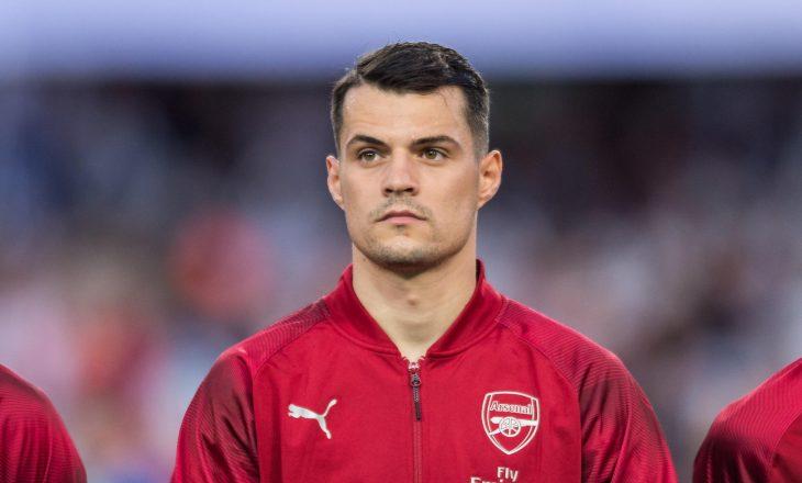Arsenal rrit çmimin e Xhakës, këtë shifër i kërkon Romës për transferimin e tij