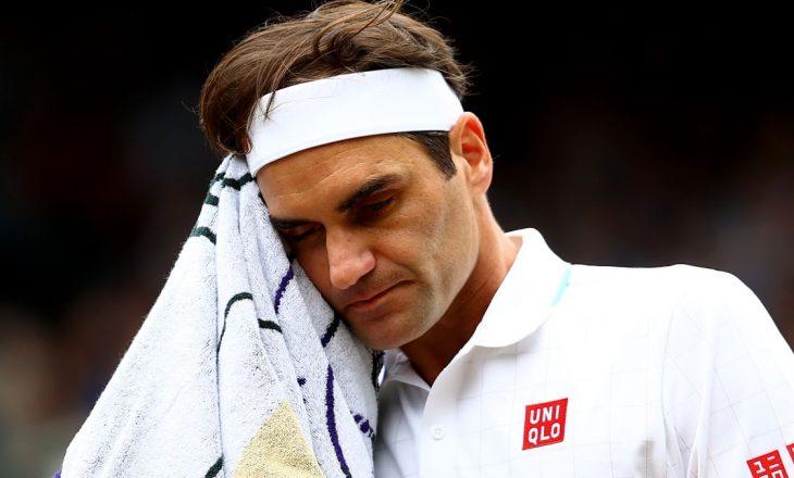 Roger Federer mbetet jashtë garave për shkak të lëndimit