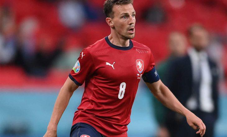 Darida pensionohet nga Kombëtarja Çeke
