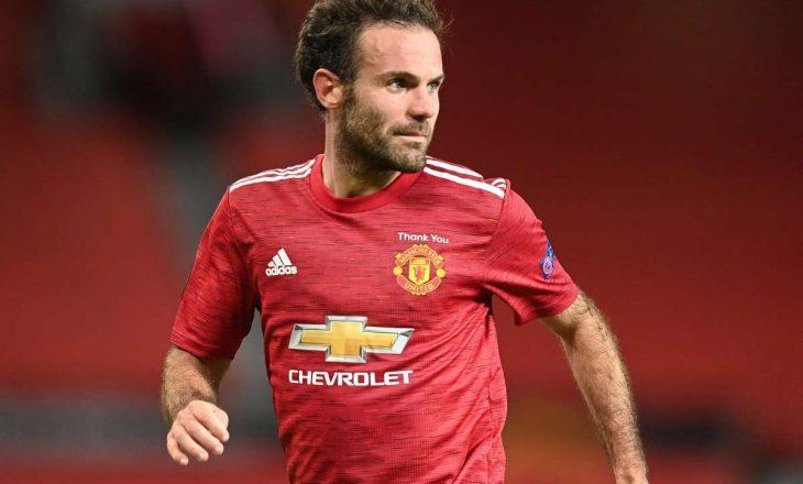 Juan Mata vazhdon kontratën me Manchester United
