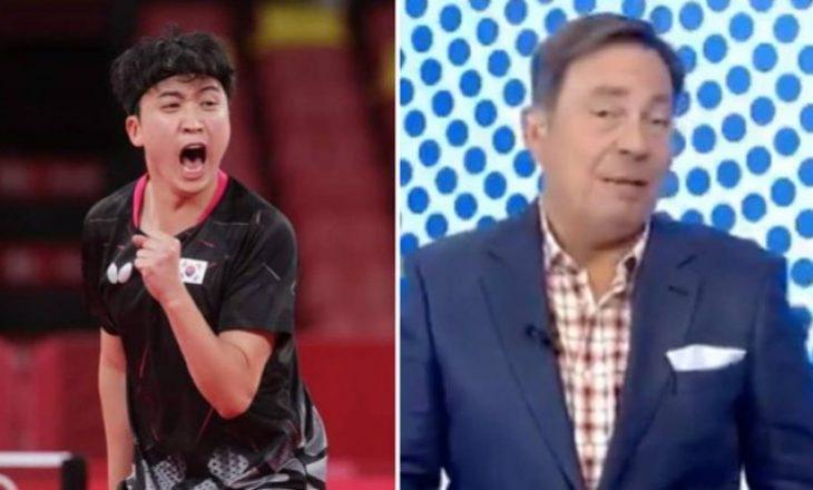 Komentatori olimpik shkarkohet menjëherë pas emisionit, shkaku i komenteve raciste