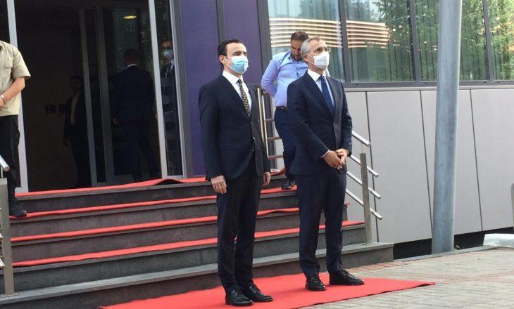 Kurti pret në takim Stoltenbergun – Nuk deklarohen për media