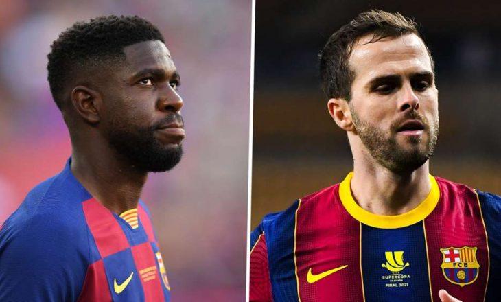 Barcelona do të lirojë dy lojtarë