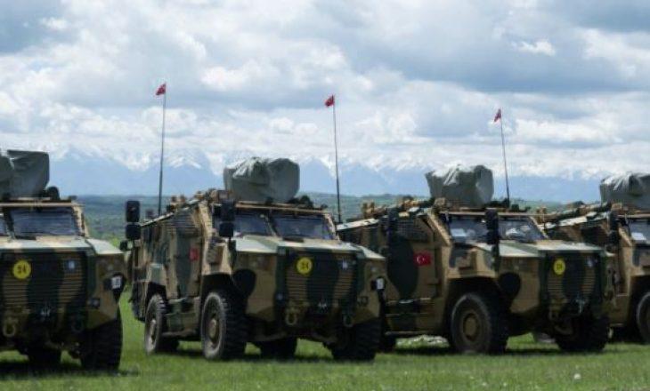 14 automjete ushtarake të blinduara Kosova i bleu nga Turqia