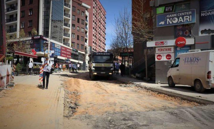"""Protestojnë banorët e rrugës """"Muharrem Fejza"""" në kryeqytet"""